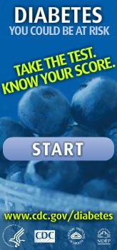 Click to visit http://uvmc.org/diabetes to take the risk factor assessment